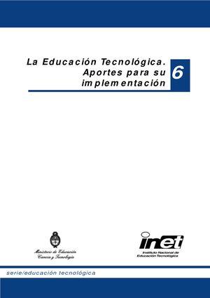 Calaméo - INET - 6 - La Educación Tecnológica