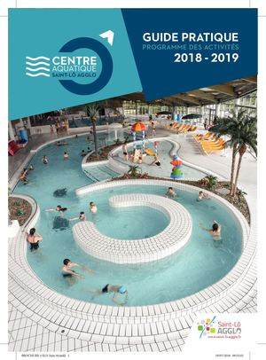 Brochure Centre Aquatique