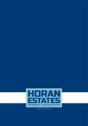 Horan Estates Brochure