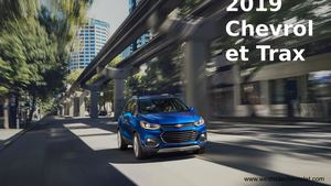 All New 2019 Chevrolet Trax Compact SUV – Westside Chevrolet