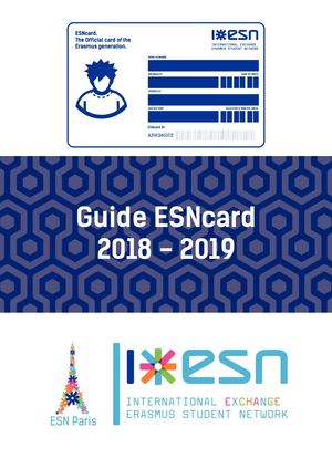 Guide ESNcard 18-19