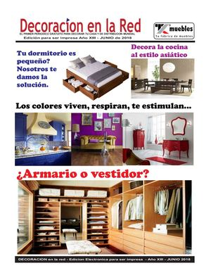 Decoracion en Internet -  Junio 2018