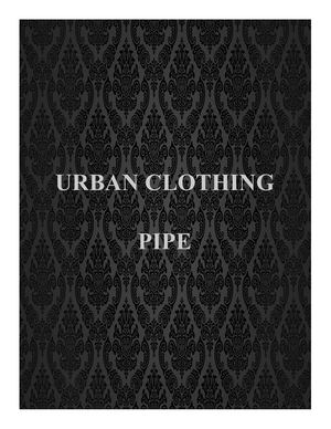 URBAN CLOTHING PIPE