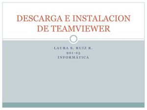 Descarga E Instalacion De Team Viewer