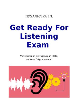 Get Ready For Listening Exam