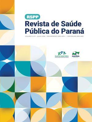 314bf15732272 Calaméo - Revista de Saúde Pública do Paraná - 1ª Edição