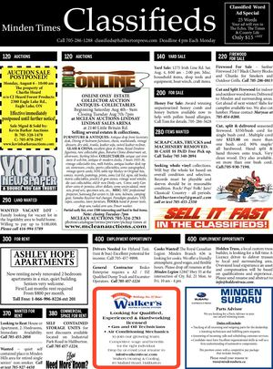 Minden classifieds