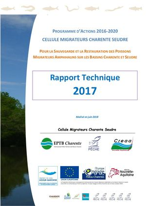 Rapport Technique 2017 Cellule Migrateurs Charente Seudre