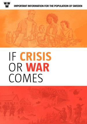 If Crises Or War Comes