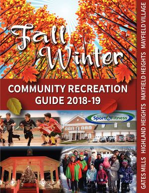 2018 Fall & Winter Brochure