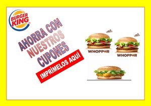 Catalogo De Burgerking
