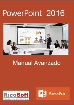 Manual Avanzado de Power Point 2016