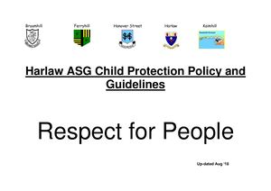 Harlaw Asg Child Protection Policy