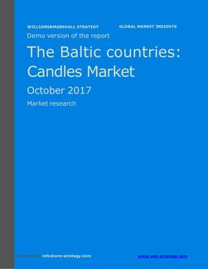 WMS Demo Baltic Countries Candles Market October 2017