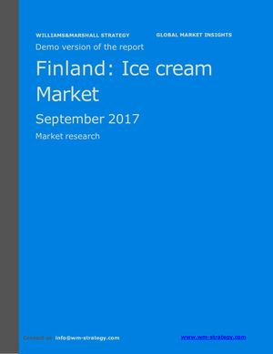 WMS Demo Finland Ice Cream Market September 2017
