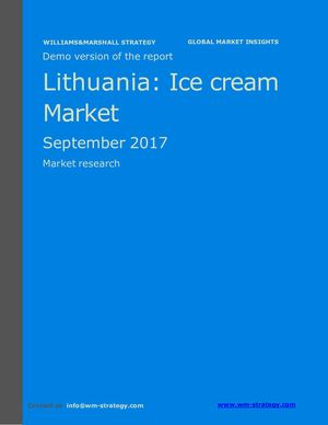 WMS Demo Lithuania Ice Cream Market September 2017