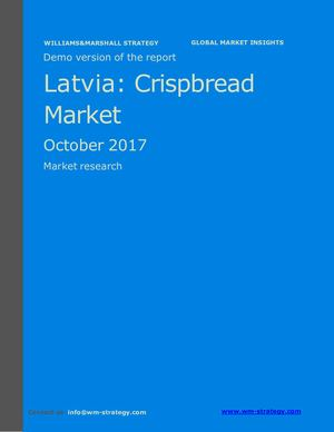 WMS Demo Latvia Crispbread Market October 2017