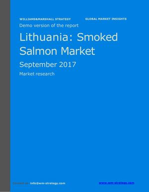 WMS Demo Lithuania Smoked Salmon Market September 2017