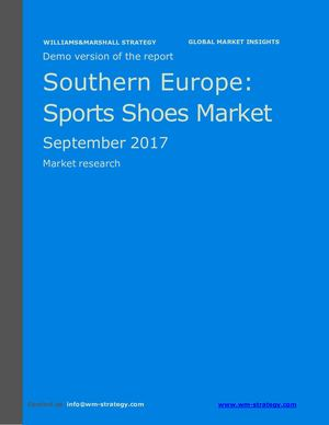 WMS Demo Southern Europe Sports Shoes Market September 2017