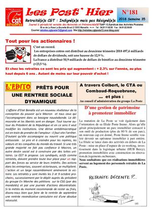 Les Post Hier  N 181