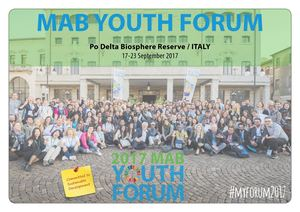 MAB Youth Forum 2017 Synthesis Document Action Plan