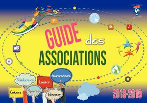 Guide des associations 2018/2019
