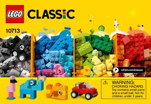 Lego Classic 10713 Creative Suitcase Building Instructions