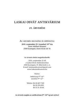 Calaméo - Laskai Osvát Antikvárium – 29. árverése ca8c11437b