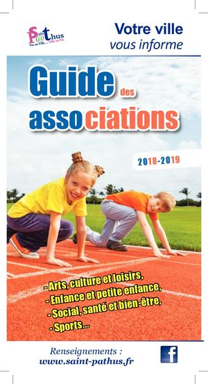 Guide des associations 2018- 2019