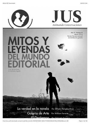 Mitos y leyendas del Mundo Editorial en Revista Jus