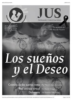 Sueños en Revista Jus
