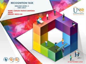 Pre-knowledge - Task 1 - Recognition task forum