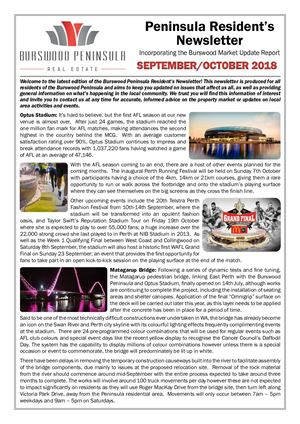 Newsletter September October