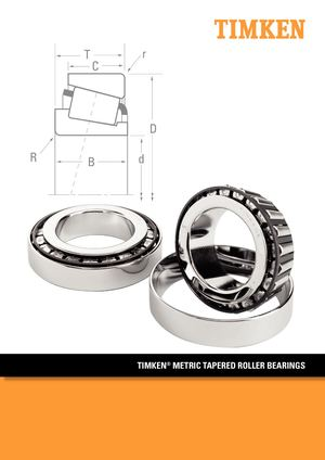 Timken Cuscinetti A Rulli Conici Iso Trb Tapered Roller Bearings En 10481