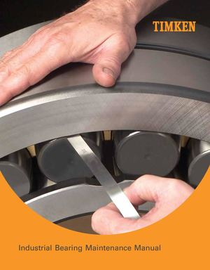 Timken Industrial Bearing Maintenance Manual Catalog Manutenzione Cuscinetti Industriali En 10213