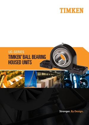 Timken Uc Series Ball Housed Unit Mini Catalog Supporti Cuscinetti Sfere En 10692