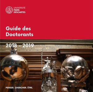 Guide Doctorants 2018-2019