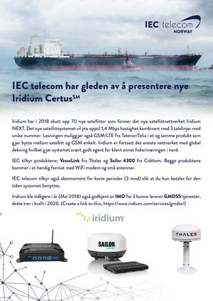 18 09 06 Iec Norway Brochure & Advertisement