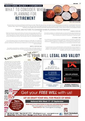Financial planning George Herald