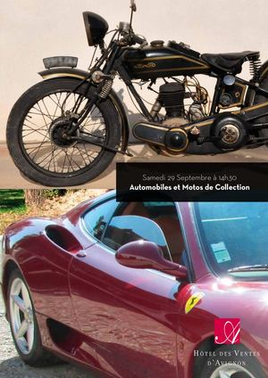 Automobiles et Motos de Collection 29-09-2018 ? 14h30
