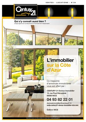 CENTURY 21 N°29 - DOMUS IMMOBILIER