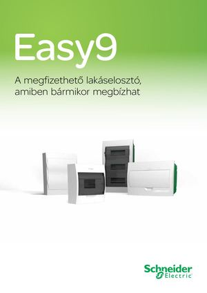 Schneider Electric Easy9 Katalogus