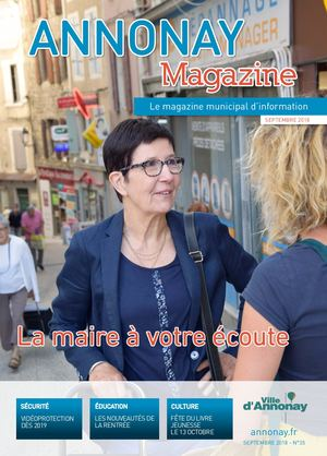Annonay Magazine n°35 - septembre 2018