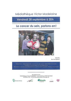 Bibliographie Conférence Cancer