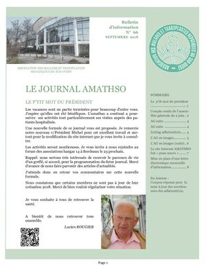 Journal Amathso Septembre 2018