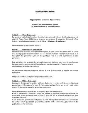 Calaméo De Parfums Abeilles Musiques Guerlain Règlement Les wPyvmn0ON8