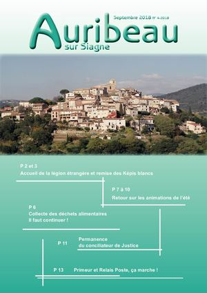 Bulletin Auribeau 20p Septembre 2018