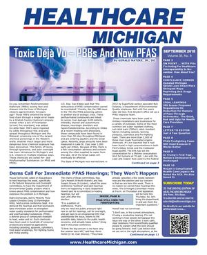 Healthcare Michigan September 2018
