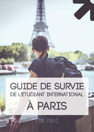 Survival Guide 2018-2019 - ESN Paris