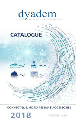 Calaméo - Catalogue Connectique Automne Hiver 2018 Dyadem 61e13a24f3b